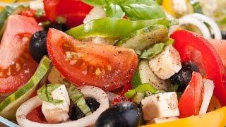 Греческий салат | Вкусная Греция