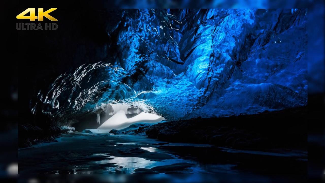 Красотища!!!! Северное сияние, ледники Гренладии! Потрясающее видео качества 4к под красивую музыку!