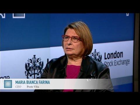 Maria Bianca Farina on insurance in Italy | Poste Vita | World Finance Videos