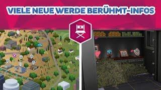 Viele neue Infos zu Werde Berühmt! | sims-blog.de