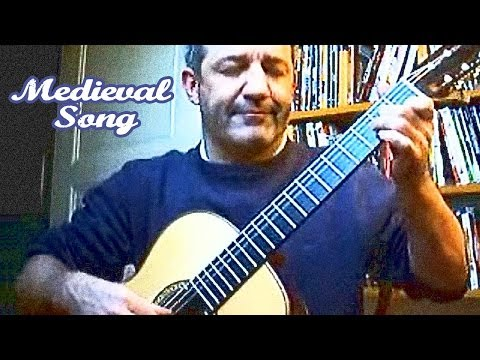Medieval Song - Fingerstyle Guitar by Frédéric Mesnier