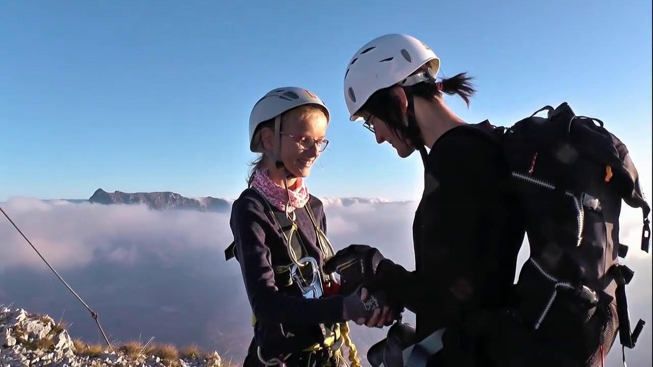Eisenerzer Klettersteig : Eisenerzer steig klettersteig youtube