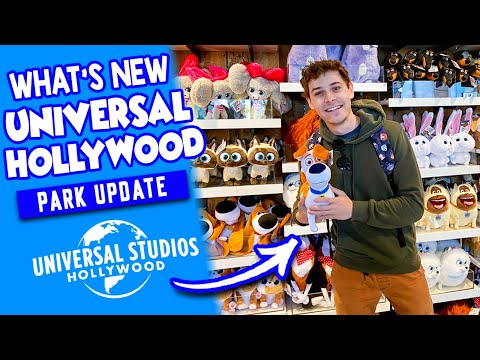 Universal Studios Hollywood Update! | FIRST LOOK Secret Life of Pets, Jurassic World Update & More!