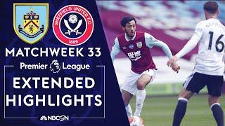 Burnley V. Sheffield United | Premier League Highlights | 7/5/2020 | Nbc Sports