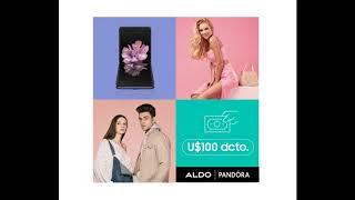 Complementa tu experiencia trendy de la mano del Galaxy Z Flip y Aldo o Pandora