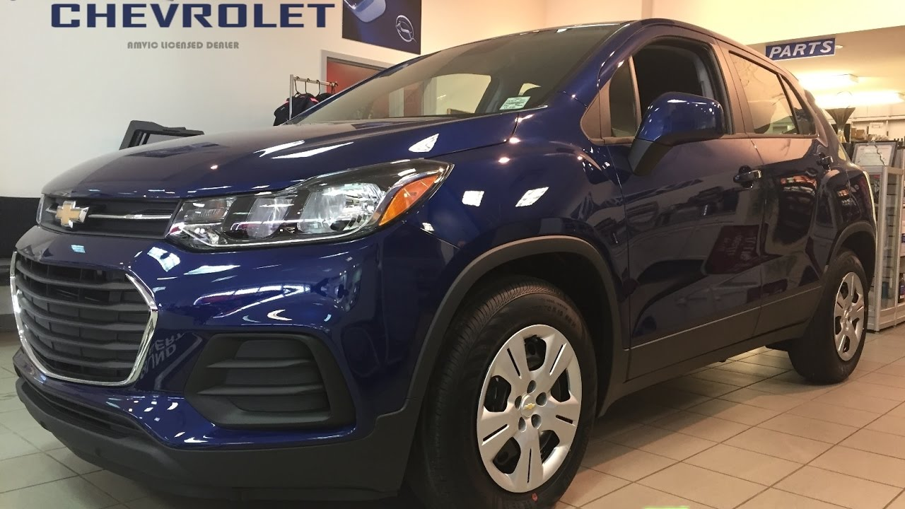 2017 Chevrolet Trax Ls New Blue Fwd 17n041