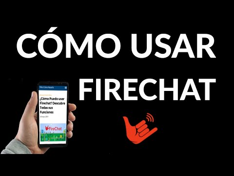 Cómo usar Firechat