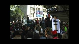 Save Live Australia Music (SLAM) rally: Swanston st to Bourke, Melbourne (1 of 3)