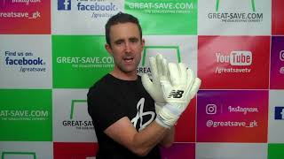 New Balance Furon Kasper Schmeichel Negative  Glove Preview