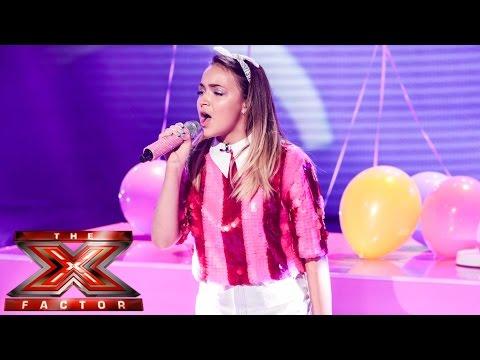 Lauren Platt sings Pharrell's Happy   Live Week 1   The X Factor UK 2014