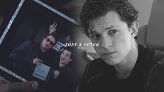 tony stark & peter parker | ashes