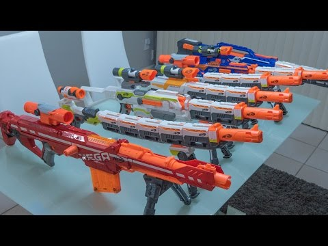 NERF COMBOS | SNIPER EDITION!