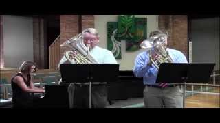 Pearl Fishers Duet - euphoniums: Dave Werden and Tim Morris