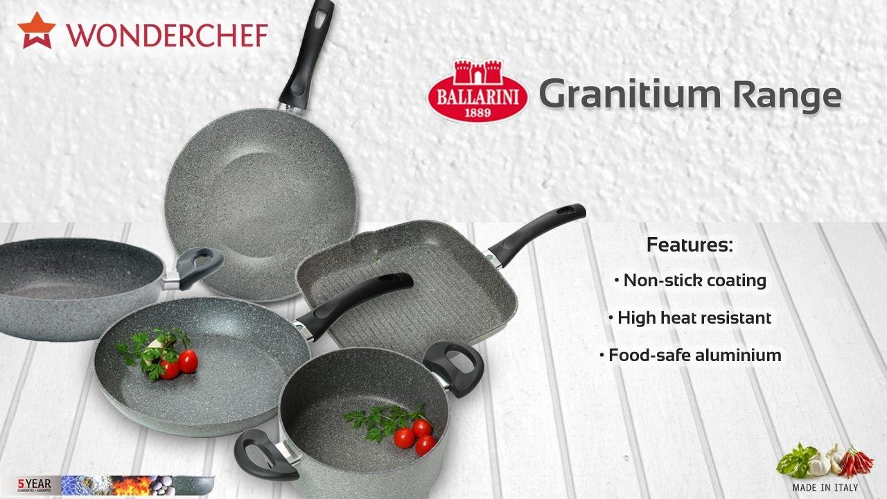 Granitium Range of Cookware by Sanjeev Kapoor\'s Wonderchef - YouTube