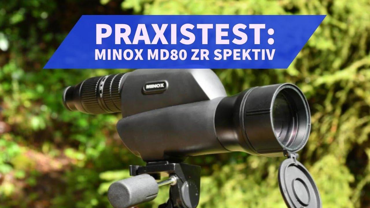 Minox md 80 zr spektiv für sportschützen im test youtube