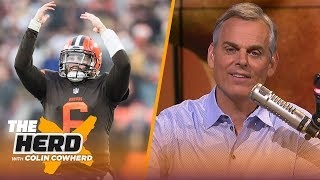 Colin Cowherd dampens Browns expectations & breaks down easiest, hardest schedules | NFL | THE HERD