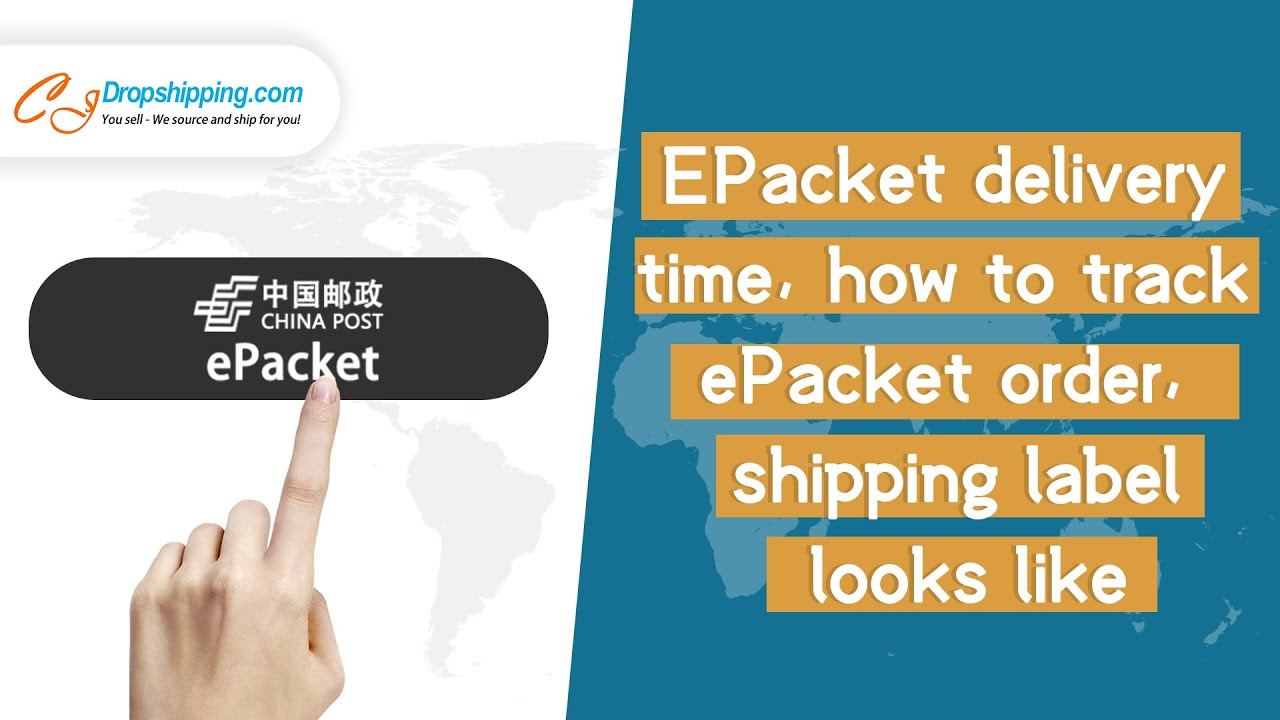 EPacket delivery time, how to track ePacket order, shipping label ...
