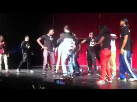 UHS dance battle