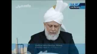 2011-09-30 Erfüllt eure Versprechen die Moscheen mit Gottesfurcht und Gebeten zu füllen