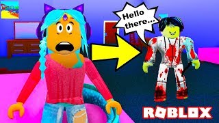 CREEPYPASTA JEFF BROKE INTO MY DORM!! Robloxian Highschool DORMS | Roblox Rollenspiel