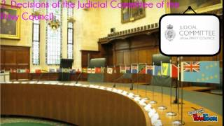 AS Law - Judicial Precedent: Types of Precedent and Court Hierarchy