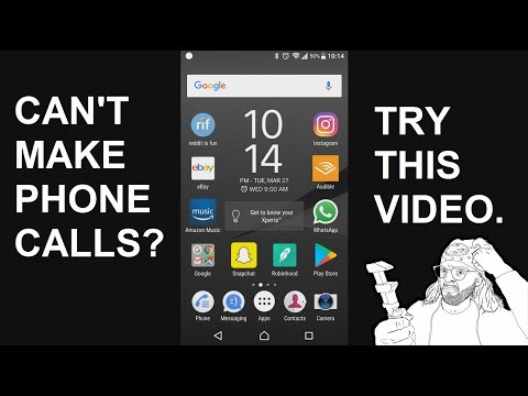 Fix: Can't Make or Receive Calls on Android - Sony Xperia