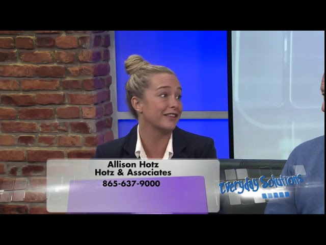 Hotz & Associates - Everyday Solutions - Introducing Allison Hotz