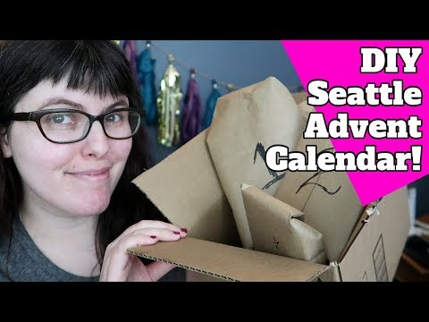 Vlogmas Day 2: It's a Very Seattle Advent Calendar!
