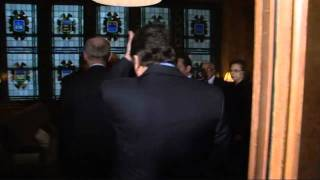 G8 leaders meet in Deauville, France: EU-Egypt meeting (raw video)