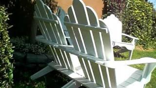 Adirondack Set (loveseat&chair)