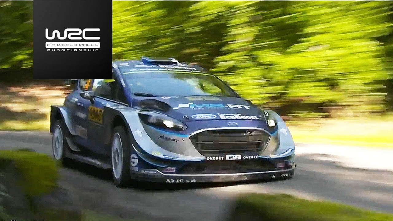WRC - ADAC Rallye Deutschland 2017: Highlights Stages 9-12