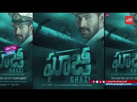 Rana Ghazi First Look  Motion Poster || Rana Daggubati || Birthday || YOYO Cine Talkies