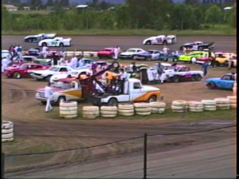 Trophy Dashes with PSA's July 93 Willamette Speedway