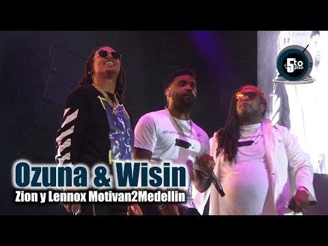Ozuna Feat Zion Y Lennox Egoísta En Vivo Desde Motivan2