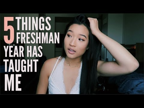5 Things I've Learned My Freshman Year | College Tips + Advice