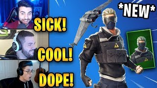 Streamers React to *NEW* Verge Skin & Diverge Glider! *RARE* | Fortnite Highlights & Funny Moments