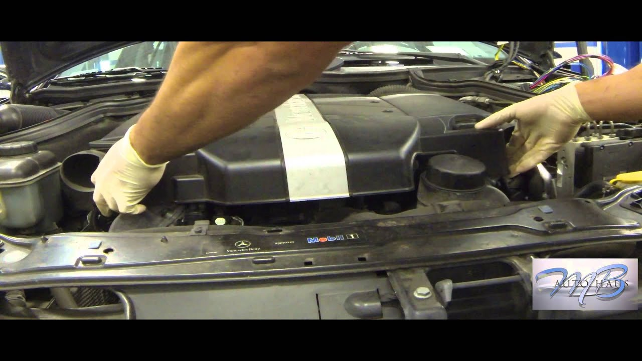 medium resolution of mb autohaus mercedes benz crank position sensor replaced 1 of 2