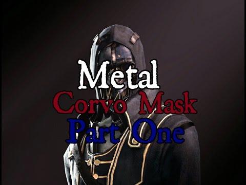 Metal corvo mask pt 1