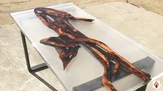TOP 3 Amazing Epoxy Resin River Tables   Live Edge Epoxy Resin Art DIY Woodworking