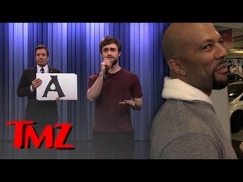 Rapper Common Judges Daniel Radcliffe's Rap Abilities.   TMZ