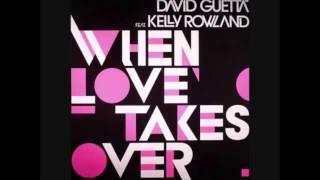 David Guetta - When Love Takes Over Instrumental