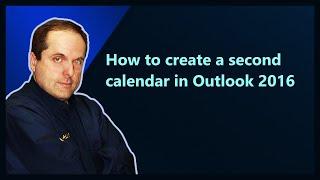 كيفية إنشاء ثانية التقويم في Outlook 2016