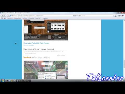 How To Get New Themes For Windows Vista