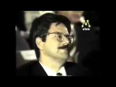 Enéas Carneiro Responde a Repórter Esquerdista Debate Rede Manchete, 1994