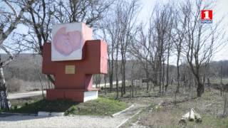 Трасса г.Симферополь-г.Феодосия. Памятник медикам – героям Великой Отечественной войны