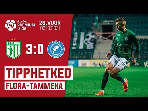 Flora Tallinn Tammeka Tartu Goals And Highlights