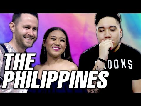 Meeting Katrina & Morissette - PHILIPPINES VLOG 12 REACTION!!! | EAPFilmsOfficial