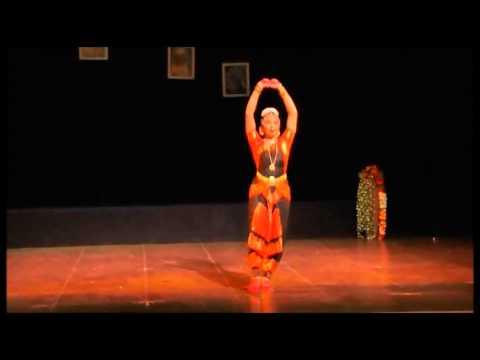 Sneha Narayan- Indian classical dance Bharatanatyam - Thillana - Brindavani - Dr. Balamuralikrishna