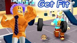 Let's Get Fit Roblox Weight Lifting Simulator 2 GYM - Cookie Swirl C Game Video