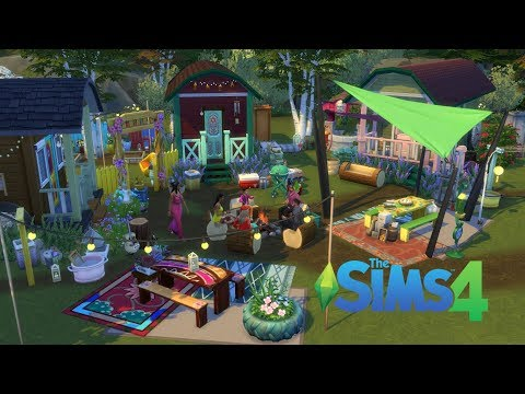The sims 4 - Gypsy camp | Laundry Day Stuff | by AndySister